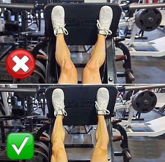 Os 5 Erros Mais Cometidos Ao Se Treinar Pernas