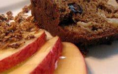 Receitas Anabólicas – Bolo integral de maçã com banana