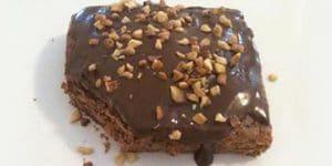 Brownie de Whey de Chocolate