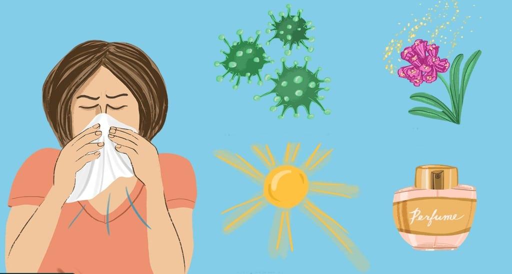 Principais Sintomas de Rinite Alérgica