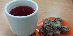 chá da ameixa