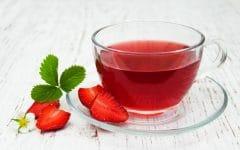 Os 10 Benefícios do Chá da Folha do Morango Para Saúde