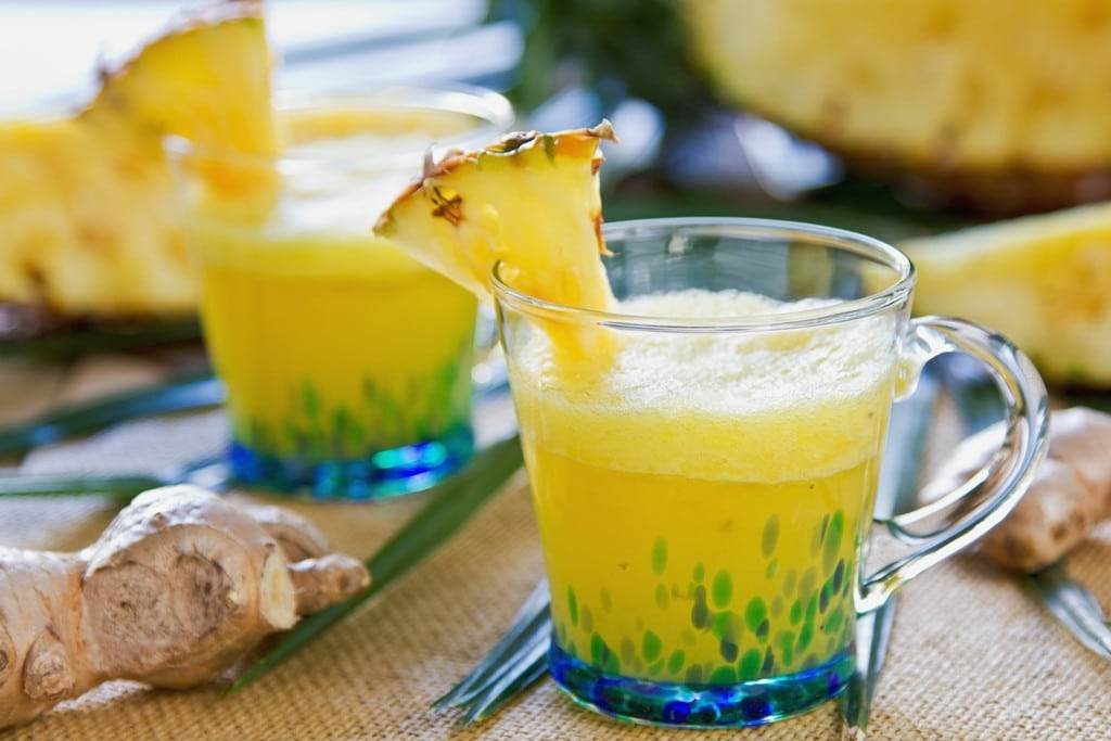 chá de abacaxi chá de abacaxi