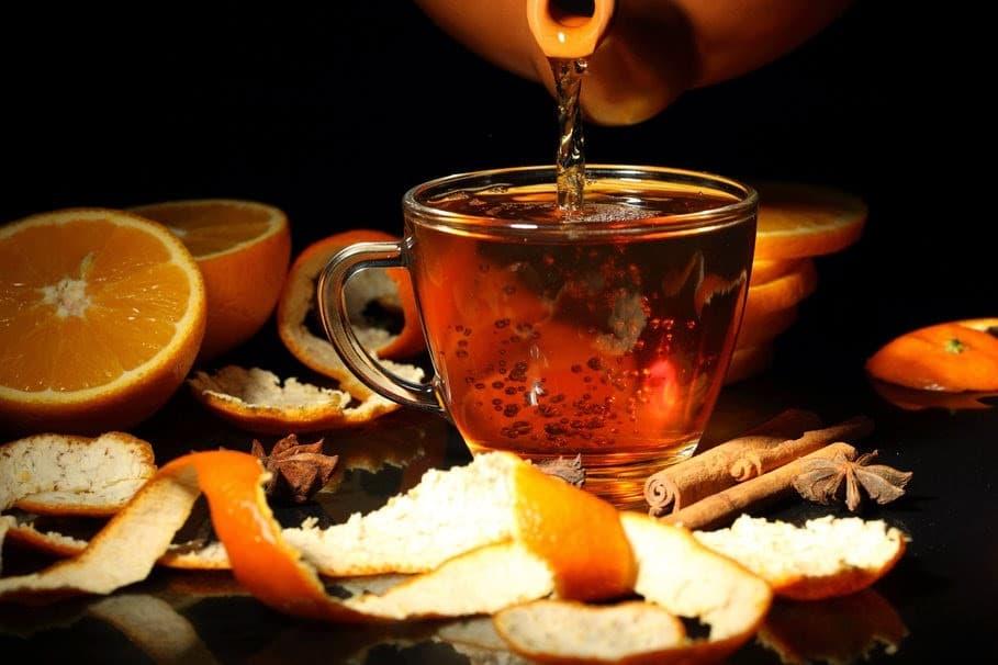 Os 10 Benefícios do Chá da Casca de Laranja Para Saúde