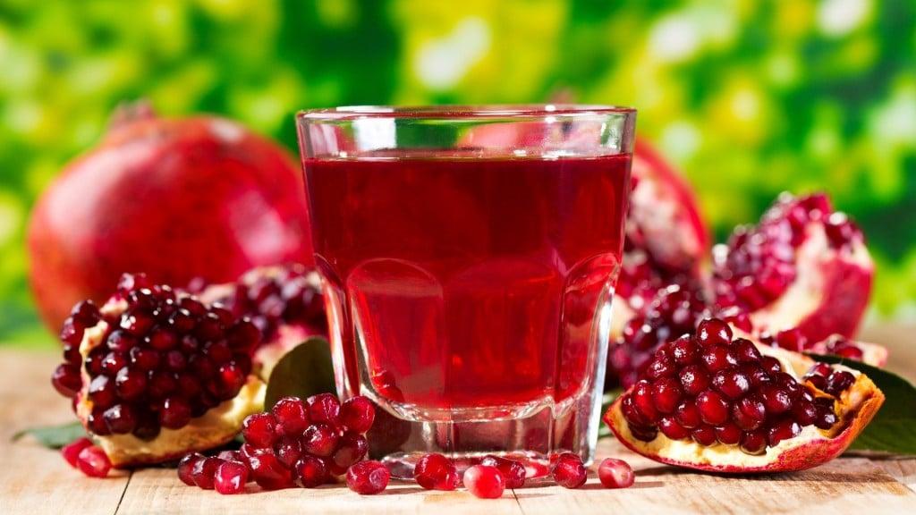 Benefícios do Suco de Romã