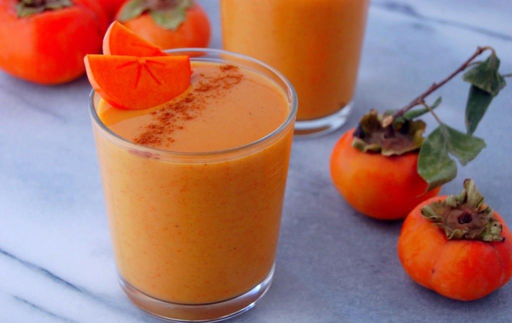 Benefícios da Vitamina de Caqui