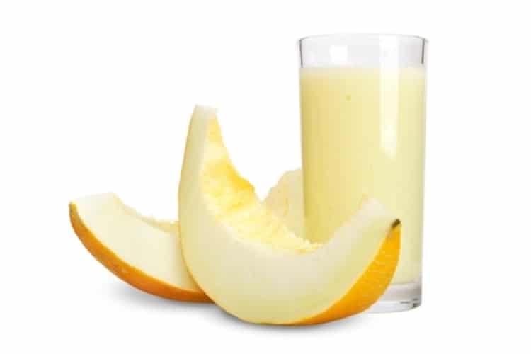 vitamina de melão 4