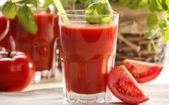 Os 10 Benefícios da Vitamina de Tomate Para Saúde