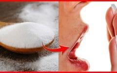 Como Eliminar Mau Hálito Usando Bicarbonato de Sódio