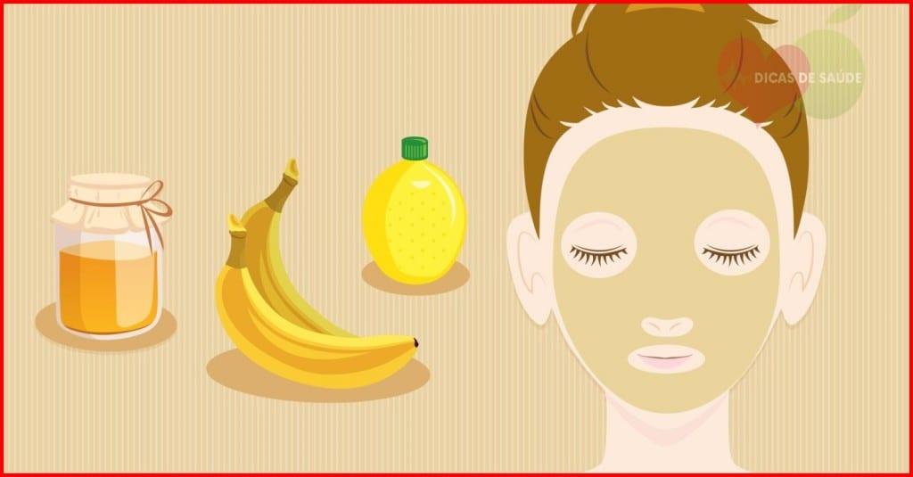 banana para pele seca