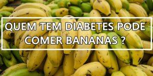 como comer bananas quando você tem diabetes