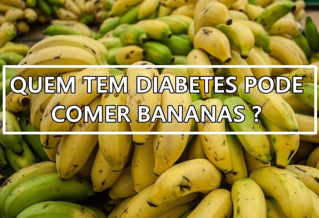 Como Comer Bananas Quando Você Tem Diabetes!