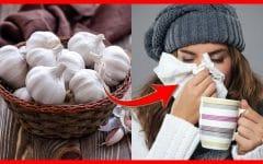 Como Usar o Alho Para Acabar com o Resfriado Rapidamente!