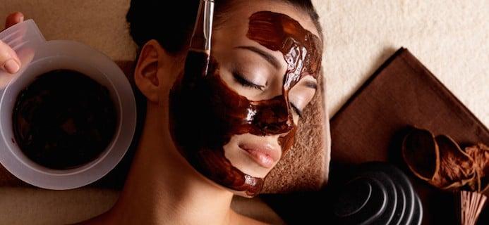 mascara de chocolate para pele