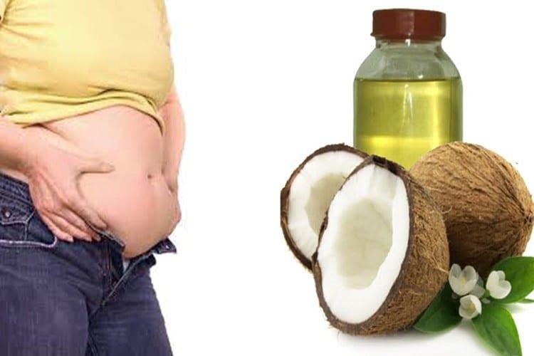 usos do oleo de coco para perda de peso