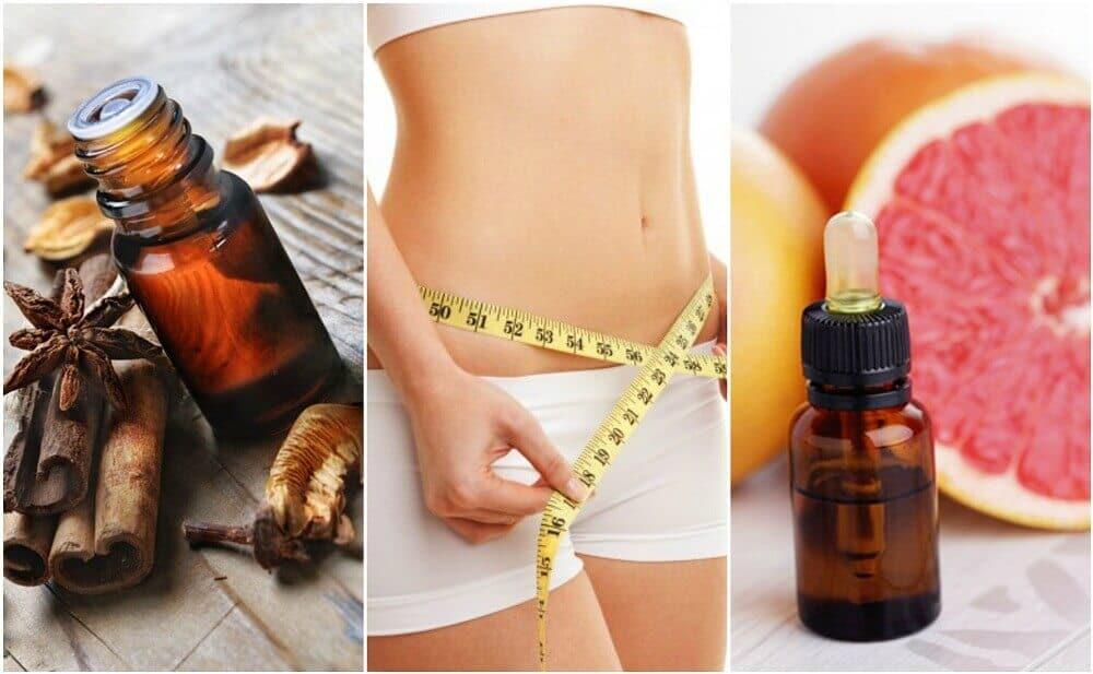 oleos essenciais para ajudar a perder peso