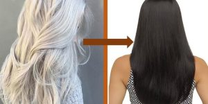 receita para cabelo branco