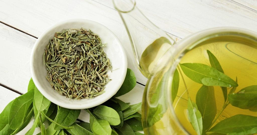 Chá Verde Para a Pele e Cabelo