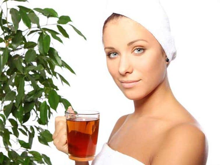 beneficios do Chá Verde Para a Pele e Cabelo