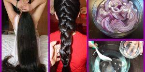 Cebola para os cabelos