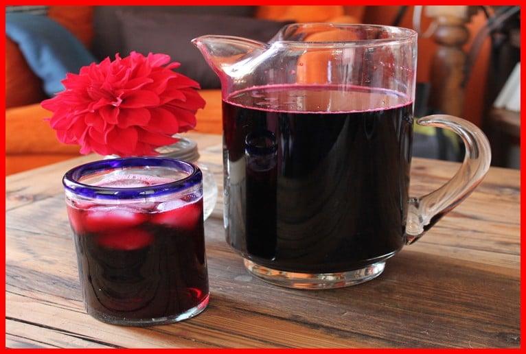 Os 6 Benefícios da Água de Jamaica Para Saúde!